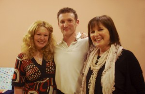 Debra with Mastery Path speakers Paul Ryder and Susan Ainscough