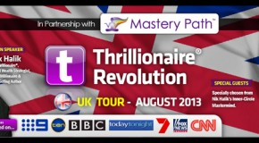 18 Aug | Thrillionaire® Revolution with Nik Halik